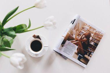 コーヒーと雑誌